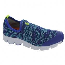 438f0b236 Bibi Boy's Blue Knitted Flexible Lightweight Slip On Loafers حذاء ولادي